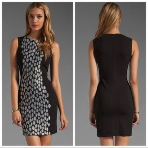 DVF • Black Tilda Mini Dress